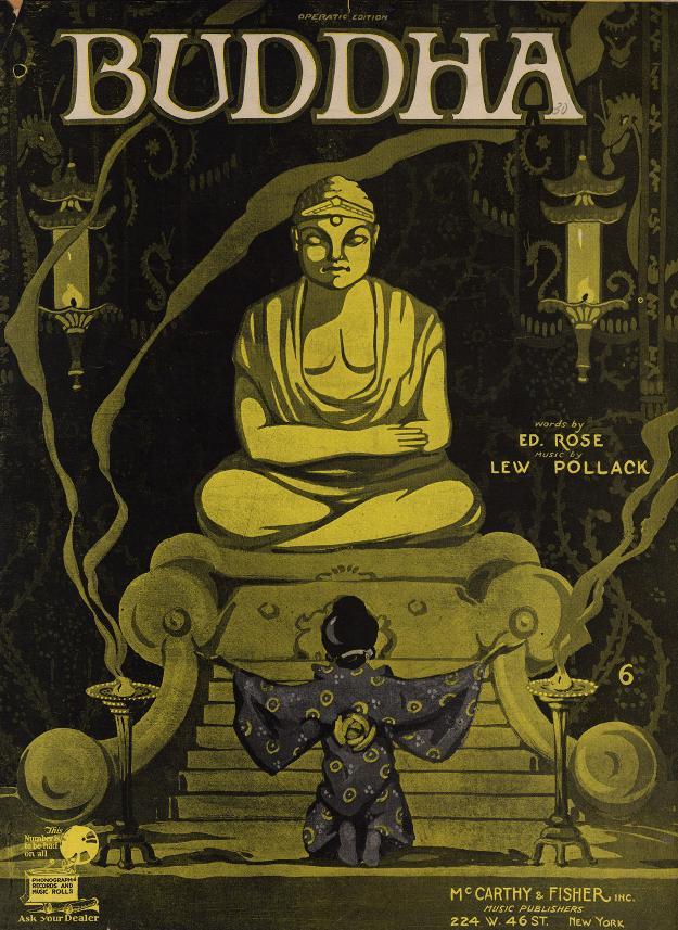 Buddha, front page