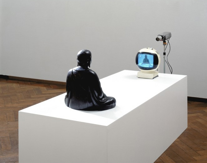 NAM JUNE PAIK: TV-BUDDHA, 1974