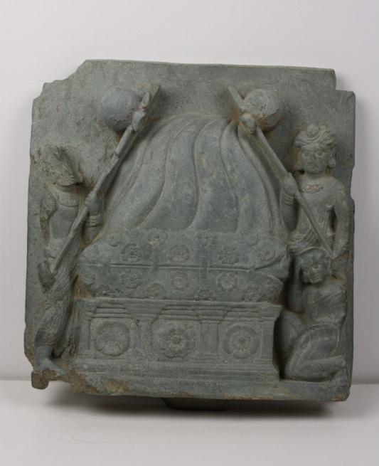 Die Kremation des Buddha