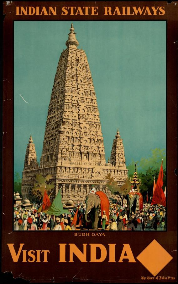 Visit India. Budh Gaya