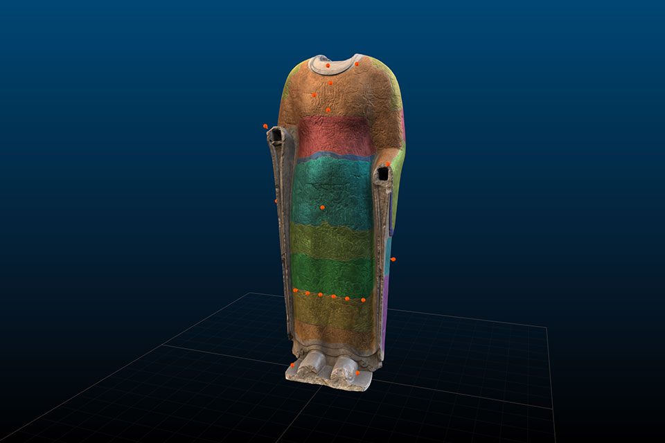 3D scan of Cosmic Buddha