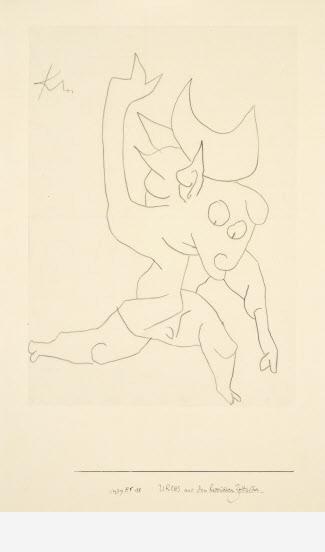 Paul Klee Urchs de l'epoque Heroique