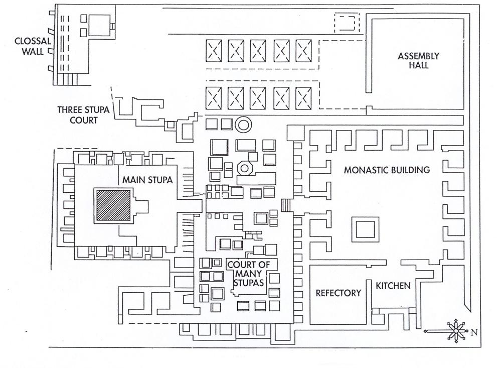 plan of monastery
