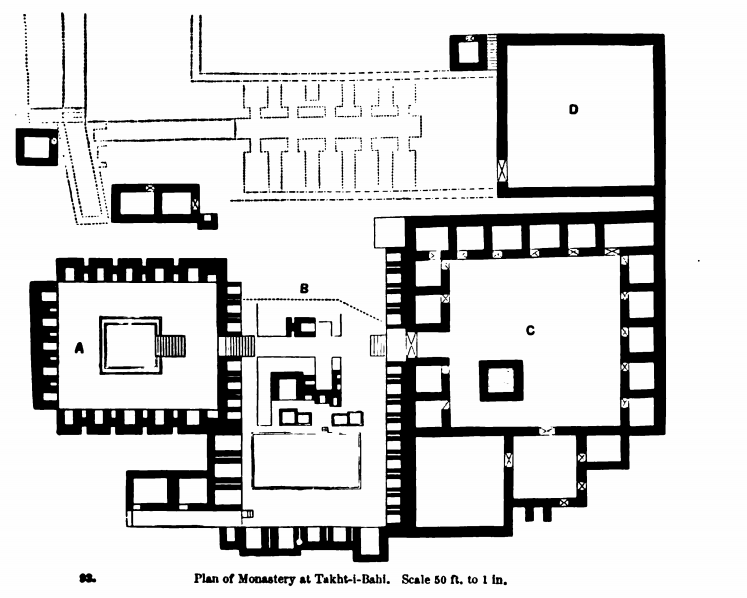 plan of monastery 1899
